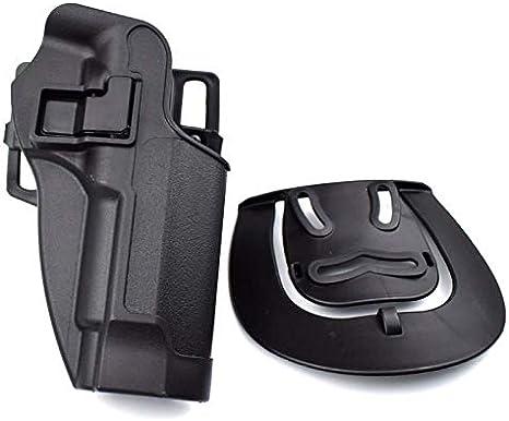 LIUSHUNBAO, Accesorios de Pistola táctica for Beretta M9 92 96 Funda de cinturón de Pistola Pistola de Aire Militar Airsoft Quick Drop Bolsa de Pistola de Mano Izquierda/Derecha