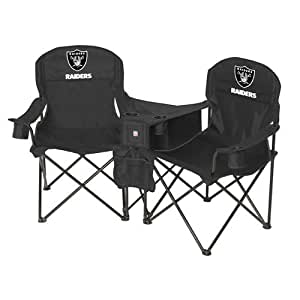 Amazon Com Oakland Raiders Nfl Deluxe Folding