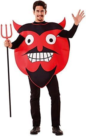 Disfraz de Emoticono Diablo para adultos: Amazon.es: Juguetes y juegos