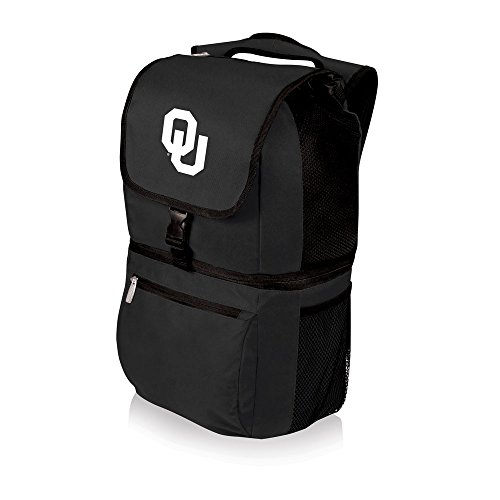 - PICNIC TIME NCAA Oklahoma Sooners Zuma Insulated Cooler Backpack, Black
