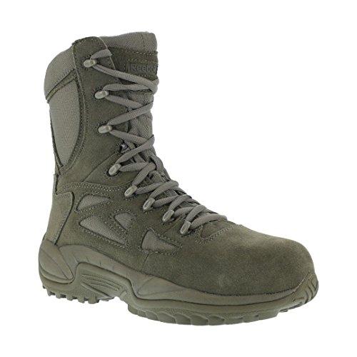 Reebok Work Men's Rapid Response RB8990 Work Boot,Sage Green,10.5 M US