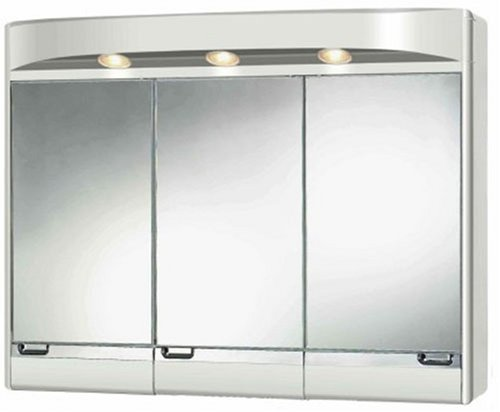 Amazon.de: Sieper 5481000 Kunststoff Spiegelschrank SATINA weiß 72