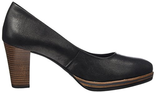 Marco Tozzi Tacón de Mujer Metallic Negro Premio 22439 Zapatos para Black C74wnACqr
