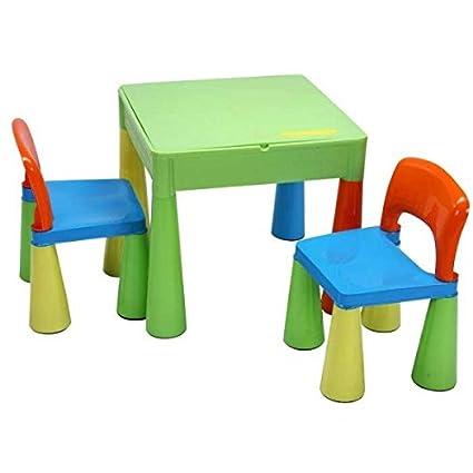 Mesa y dos sillas infantiles para niños Tega baby Mamut color ...