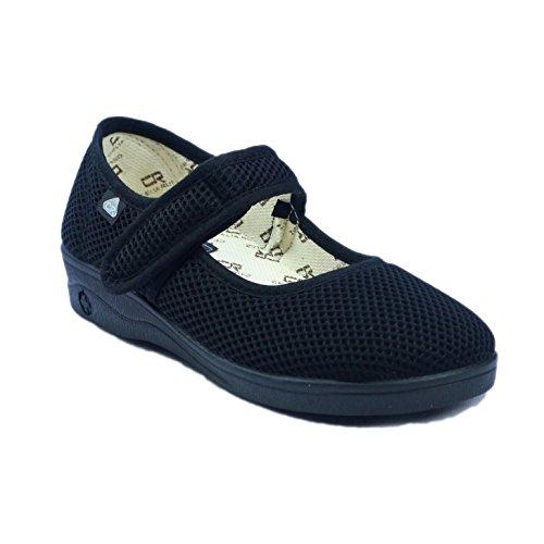 Toile Ruiz 204 Femme Mirak En Noir Chaussures Celia X18x5qw6