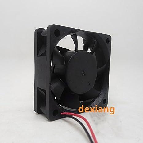 DeXiang for DFS602012H DC12V 3.4W 6020 6CM 60MM 60X60X20MM 2wire 2pin Cooling Fan
