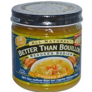Organic Chicken Base - Better Than Bouillon Reduced Sodium
