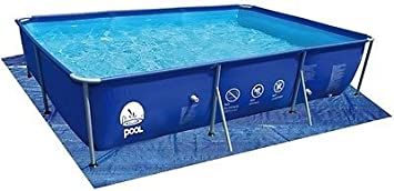 Lona de base para piscina rectangular, máx.