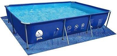 Lona de base para piscina rectangular, máx. 540 x 274 cm ...