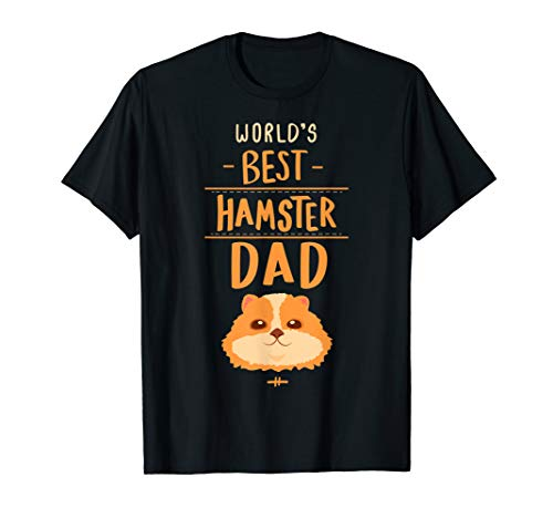 Hamster Dad T Shirt Gift Kids Men Boys Hammy Costume Outfit ()