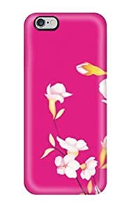 Durable Creative Sakura Flowers Crop Back Case/cover For Iphone 6 Plus