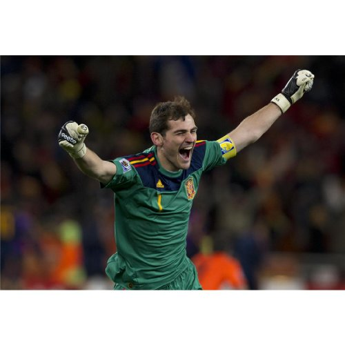 Iker Casillas Poster by Silk Printing # Size about (51cm x 35cm, 21inch x 14inch) # Unique Gift # CE2239