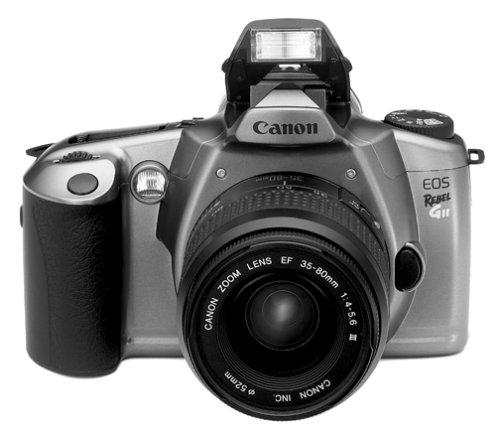 amazon com canon eos rebel gii 35mm film slr camera kit w ef 35 rh amazon com Sensor Canon EOS Rebel Gii Canon EOS Rebel Gii Manual