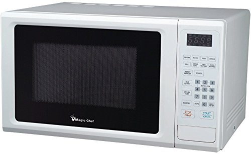 Magic Chef - 1.1 Cubic-Ft, 1,000-Watt Microwave With Digital Touch (White) *** Product Description: Magic Chef - 1.1 Cubic-Ft, 1,000-Watt Microwave With Digital Touch (White) 1.1 Cu-Ft Capacity 1,000W Digital Touch 10 Power Levels Electronic Cont ***