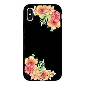 iPhone XS Flowers yellow red