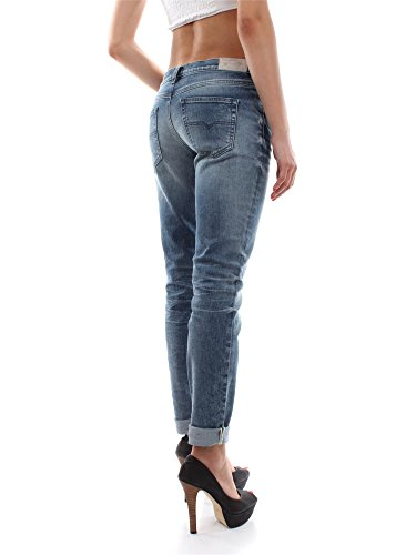 Armani Collezioni Mujer MCBI024117O Blanco Seda Pantalón