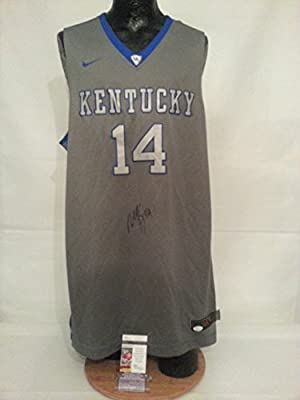 Michael Kidd-Gilchrist Kentucky Wildcats Grey XL Basketball Jersey J37875
