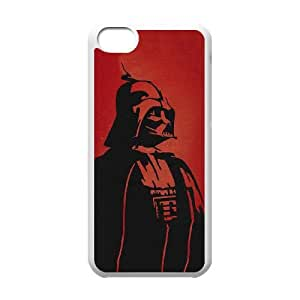 Darth Vader Red iPhone 5c Cell Phone Case White&Phone Accessory STC_961364