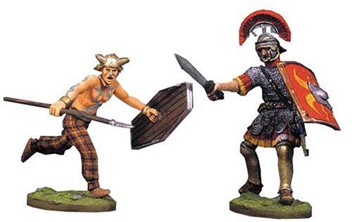 アンドレアミニチュアズ RA-016 Fighting Roman and Barbarian(III)