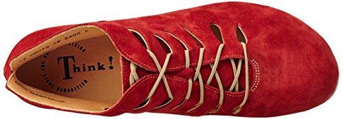 Denken! Dames Menscha Korte Laarzen Rood (rosso / Combinatorische 72)