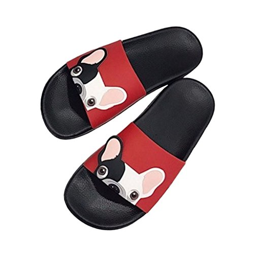 CUIGU CUIGU Chaussons pour Chaussons Red Femme pour rZqOrw1