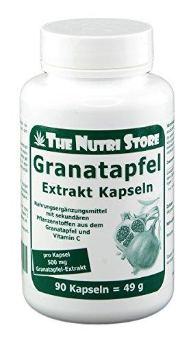 GRANATAPFEL EXTRAKT 500 mg Kapseln 90 St Kapseln