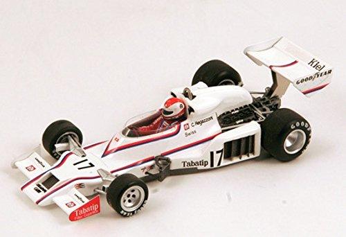 1978シャドウdn8 no。16、ブラジルGP、ハンススタックモデルカーin 1 : 43スケールby Spark B0733LL7R5