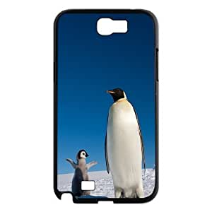 UNI-BEE PHONE CASE For Samsung Galaxy Note 2 Case -Funny Penguin-CASE-STYLE 10