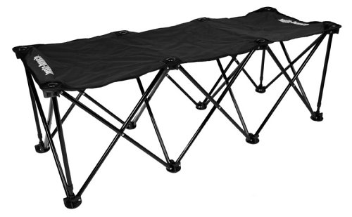 4 Seater Bench (Insta-bench Classic 3-Seater Bench - Black)