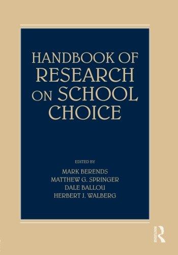 Handbook of Research on School Choice