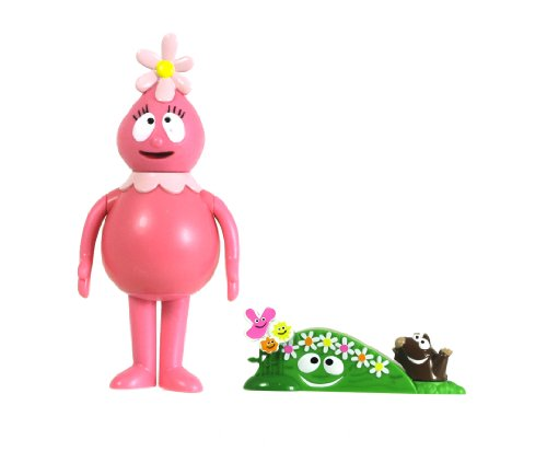 """YO GABBA GABBA 3"""" Foofa Figure with Accessories"""
