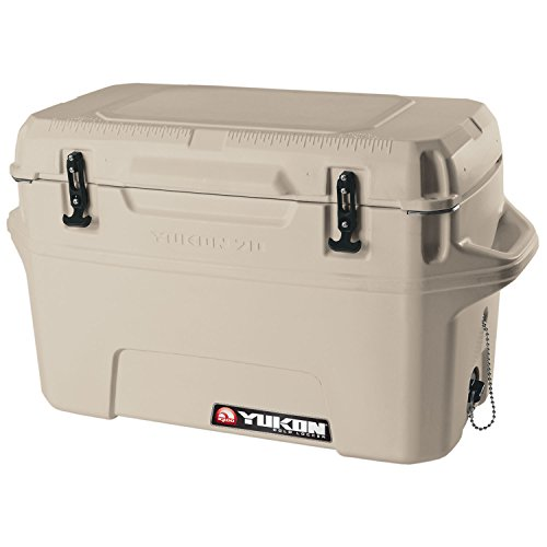 - Igloo Yukon Cold Locker Cooler, Tan, 70-Quart