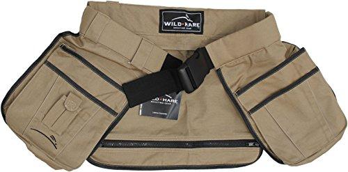 Wild Hare Shooting Gear Half Vest, Khaki, Small/Medium