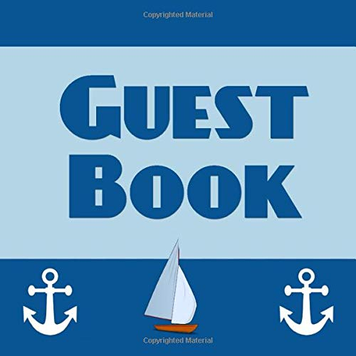 Beach wedding Nautical Guest book Custom Guest Book Any chart Nautical glam wedding Personalized guest book Boat Cleat Guest book