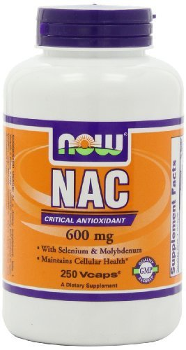 Nac-Acetyl Cysteine 600 mg - 250 Vcaps (3 Pack)