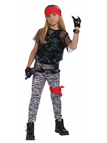 Forum Novelties 80's Rock Star Child Boy's Costume, Medium