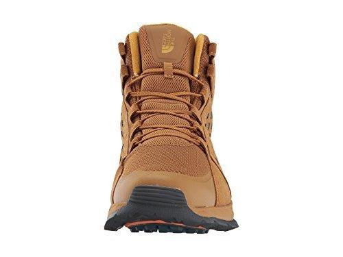 The North Face Menns Fjell Sneaker Midten Vanntett Gylden Brun / Arrowwood Gul