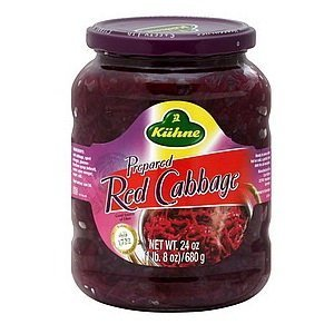 Kuhne Pickled Red Cabbage, 24 Ounce - 12 per case.
