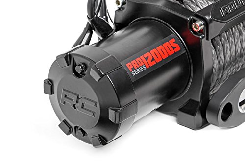 Rough Country PRO9500S - 9 500-Lb PRO Series Electric Winch w Synthetic Rope by Rough Country (Image #1)