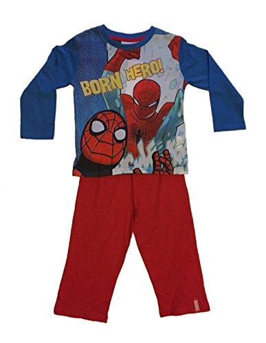 Ragazzi-Ufficiale-Marvel-Ultimate-Spiderman-Pigiama-Pigiama-Pigiama-Set