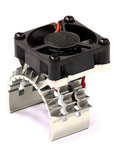 Integy Hobby RC Model T8635SILVER T2 Motor Heatsink w/ Cooli
