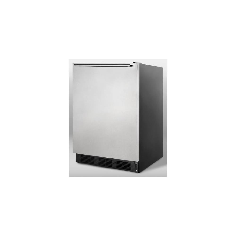 Amazoncom Summit FF7BSSHH Refrigerator Stainless Steel Compact
