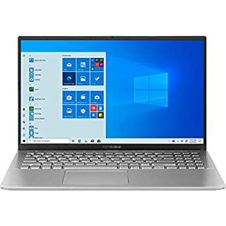 "ASUS VivoBook 15 15.6"" FHD Laptop Computer, Quad-Core AMD Ryzen 5 3500U (Beats i7-8550U), 8GB DDR4 RAM, 1TB PCIe SSD, 802.11ac WiFi, Type-C, Silver, Windows 10. Brown Box One Year Support"