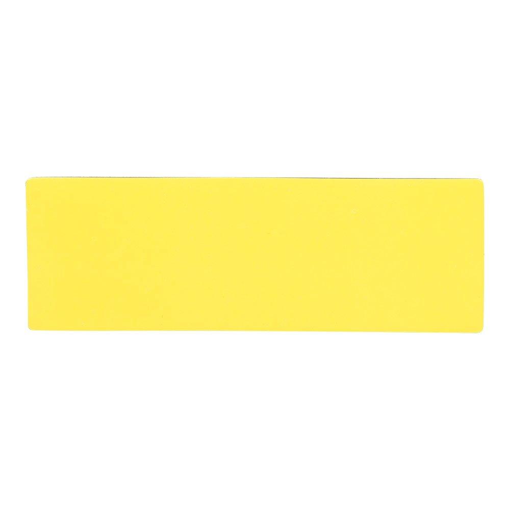 Etiquettes Magn/étiques R/éinscriptibles 7,5 x 2,5 cm Ensemble de 25 Aimants Bleu pour Tableau Magn/étique.