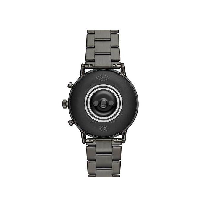 41FMLspG2eL Los smartwatches que funcionan con la tecnología WearOS by Google funcionan con teléfonos iPhoneⓇ¹ y Android Funciona varios días con una única carga en modo de batería ampliada. Seguimiento de actividad y frecuencia cardíaca, GPS incorporado para seguimiento de distancias, diseño apto para nadar
