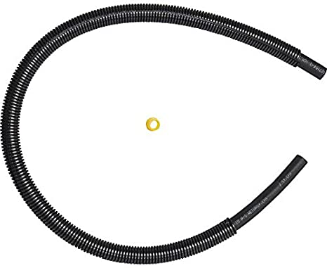 0.375 Beaded Tube and ID Hose Ends 19.75 Length 0.375 Beaded Tube and ID Hose Ends 19.75 Length Gates 352317 Power Steering Hose Assembly