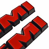 (2 pieces) HEMI Side Fender Emblem Badge Plate
