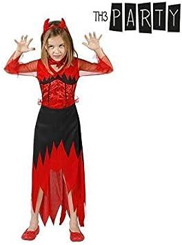 Atosa-24524 Disfraz Demonio 5-6, Color Rojo, 5 a 6 años (18168 ...