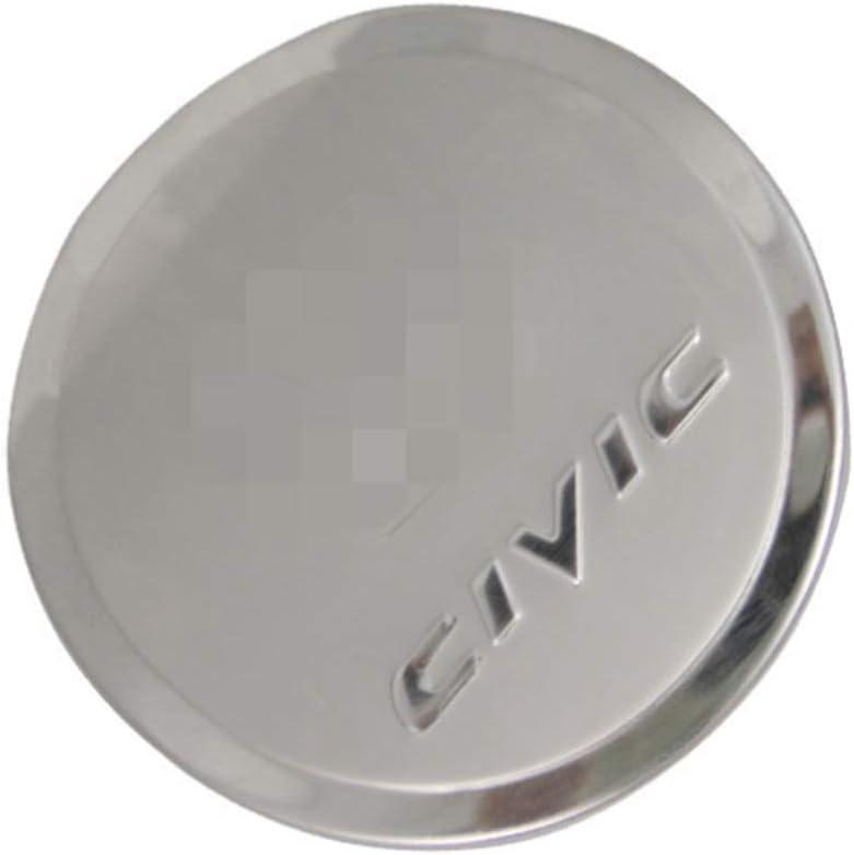ACEOLT Acero Inoxidable Coche Tap/ón del Tanque de Combustible para Honda Civic 2006-2011