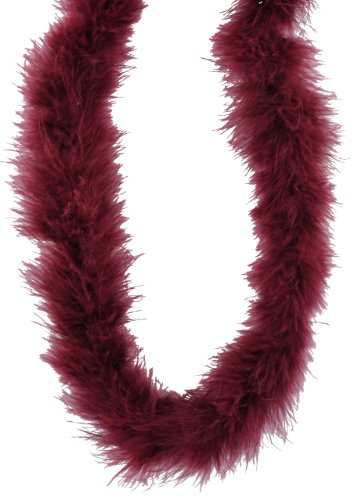 Fluffy Boa - Touch of Nature 37900 Fluffy Boa, Burgundy